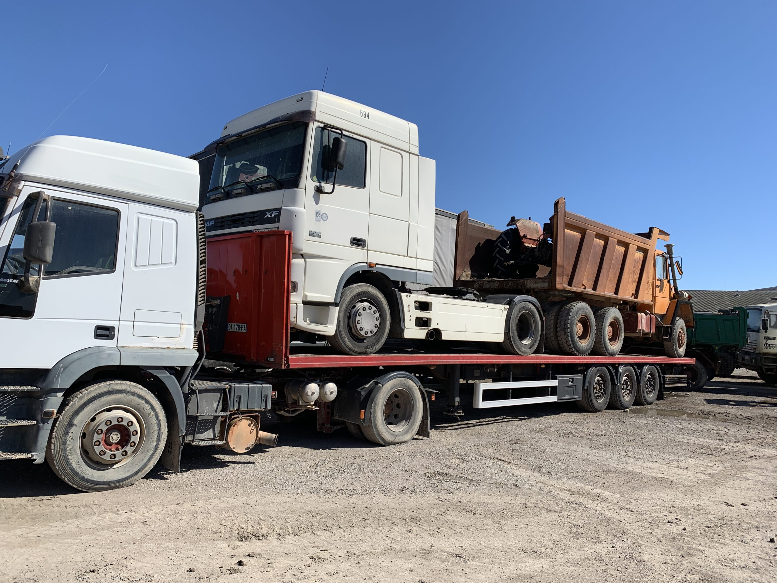 Chargement camion 39
