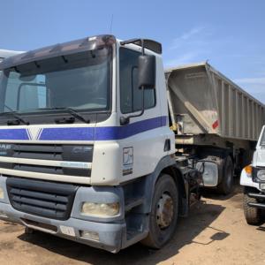 Camion DAF CF vue de profil