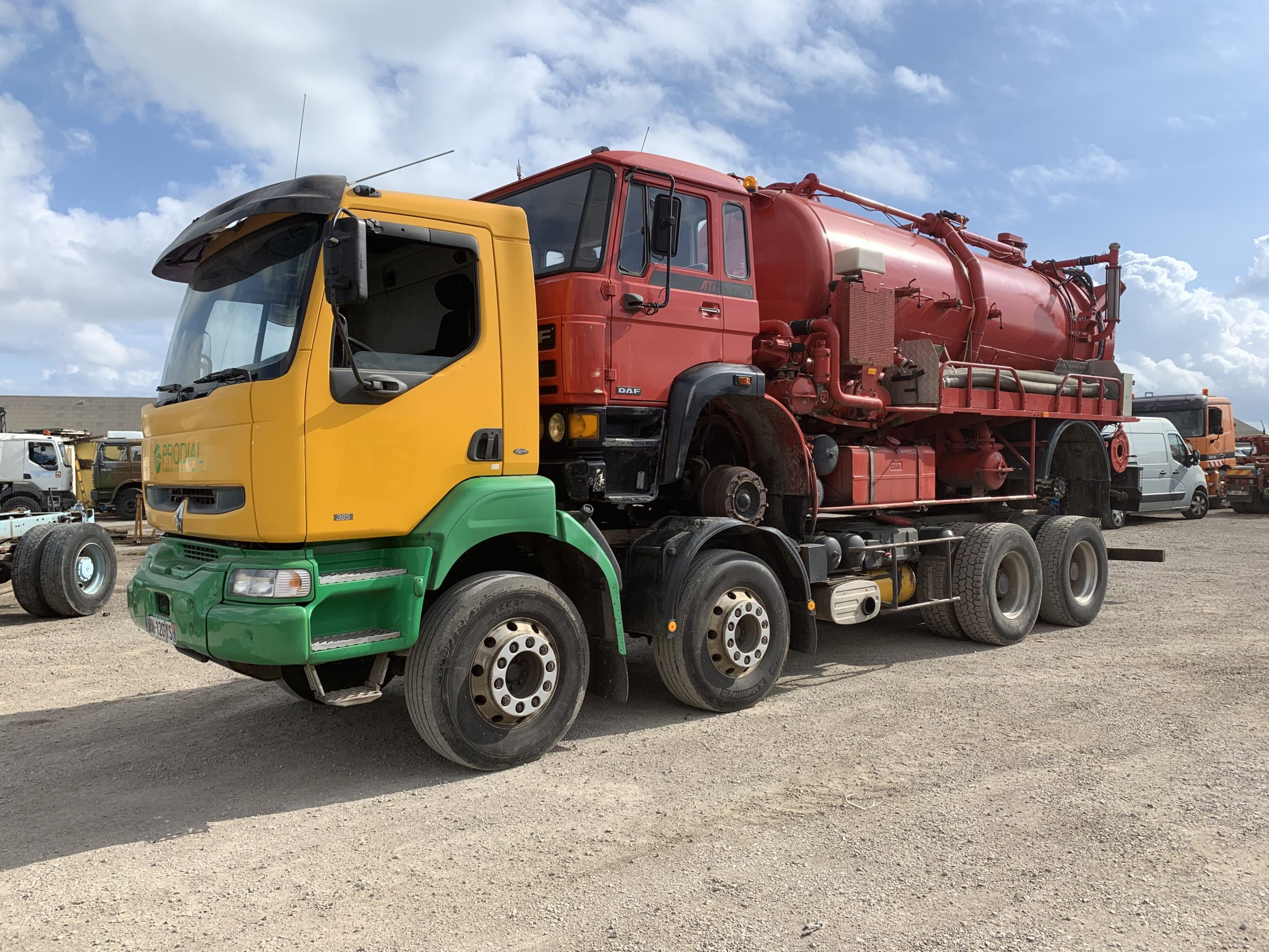 Chargement camion 37