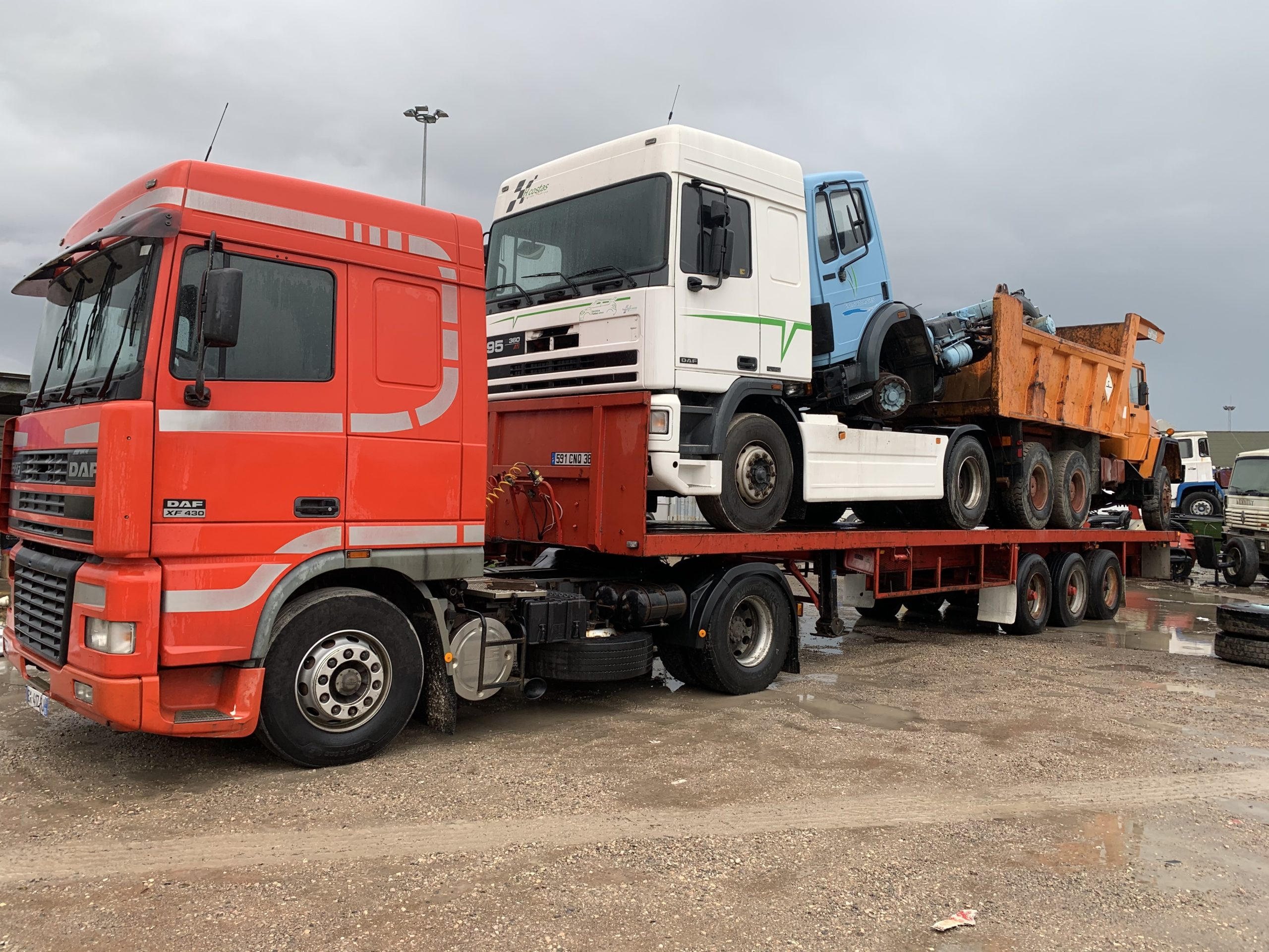 Chargement camion 35