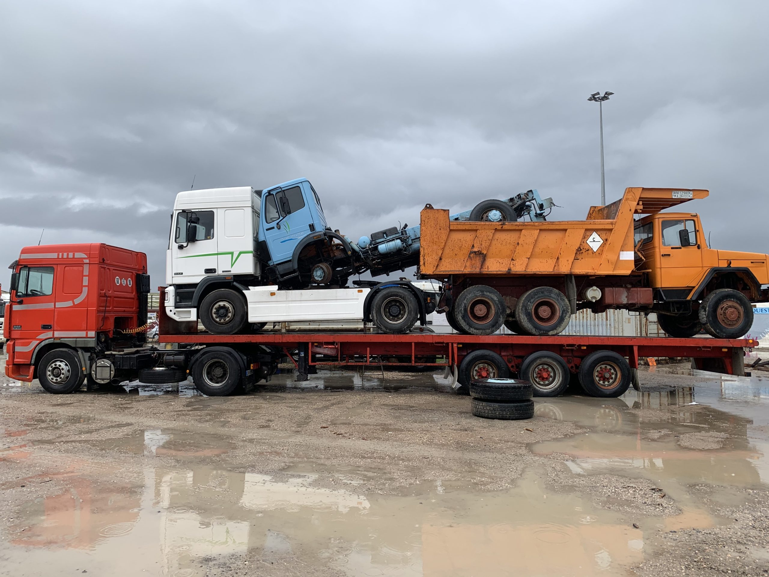Chargement camion 34