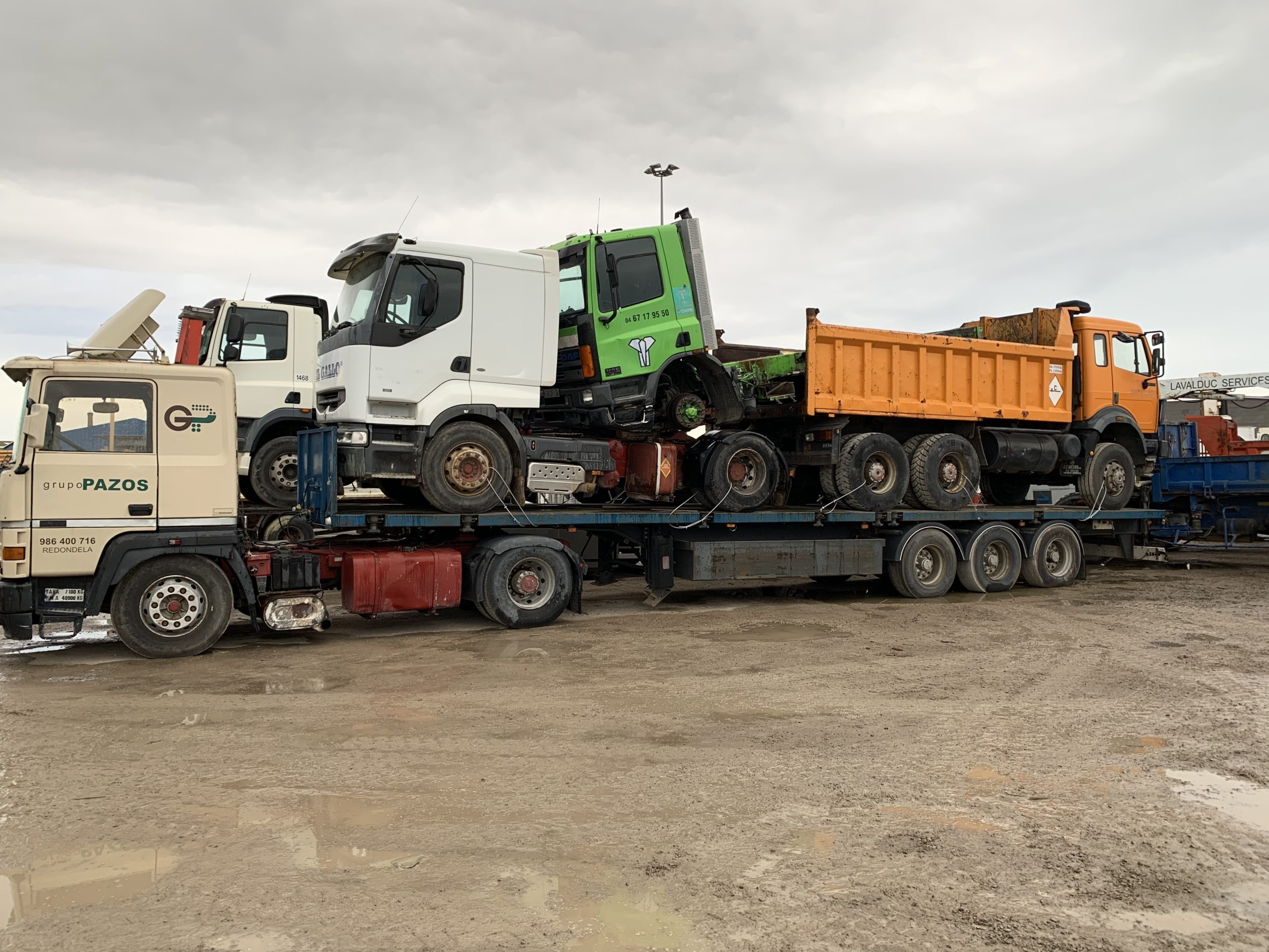 Chargement camion 32