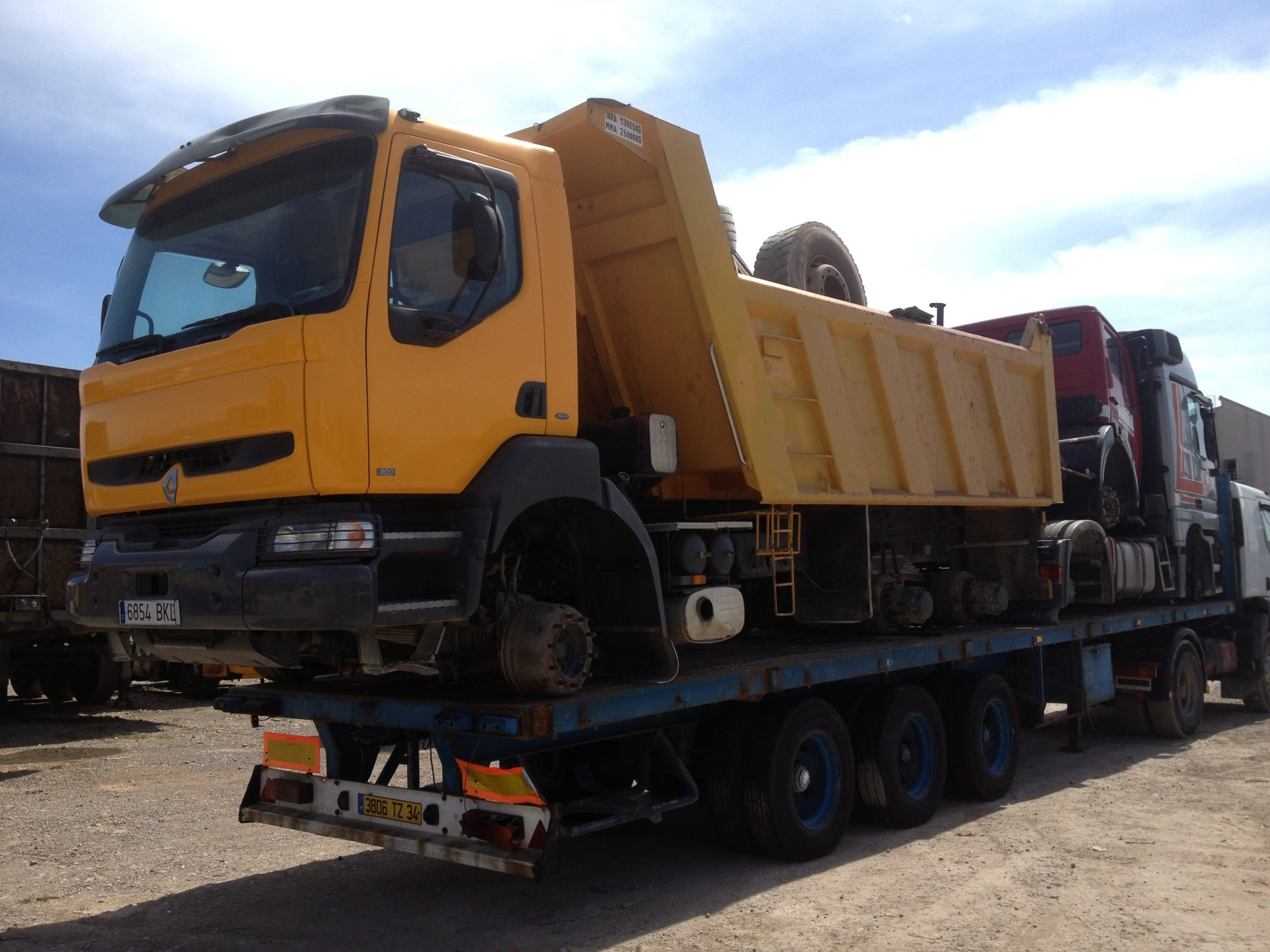 Chargement camion 31