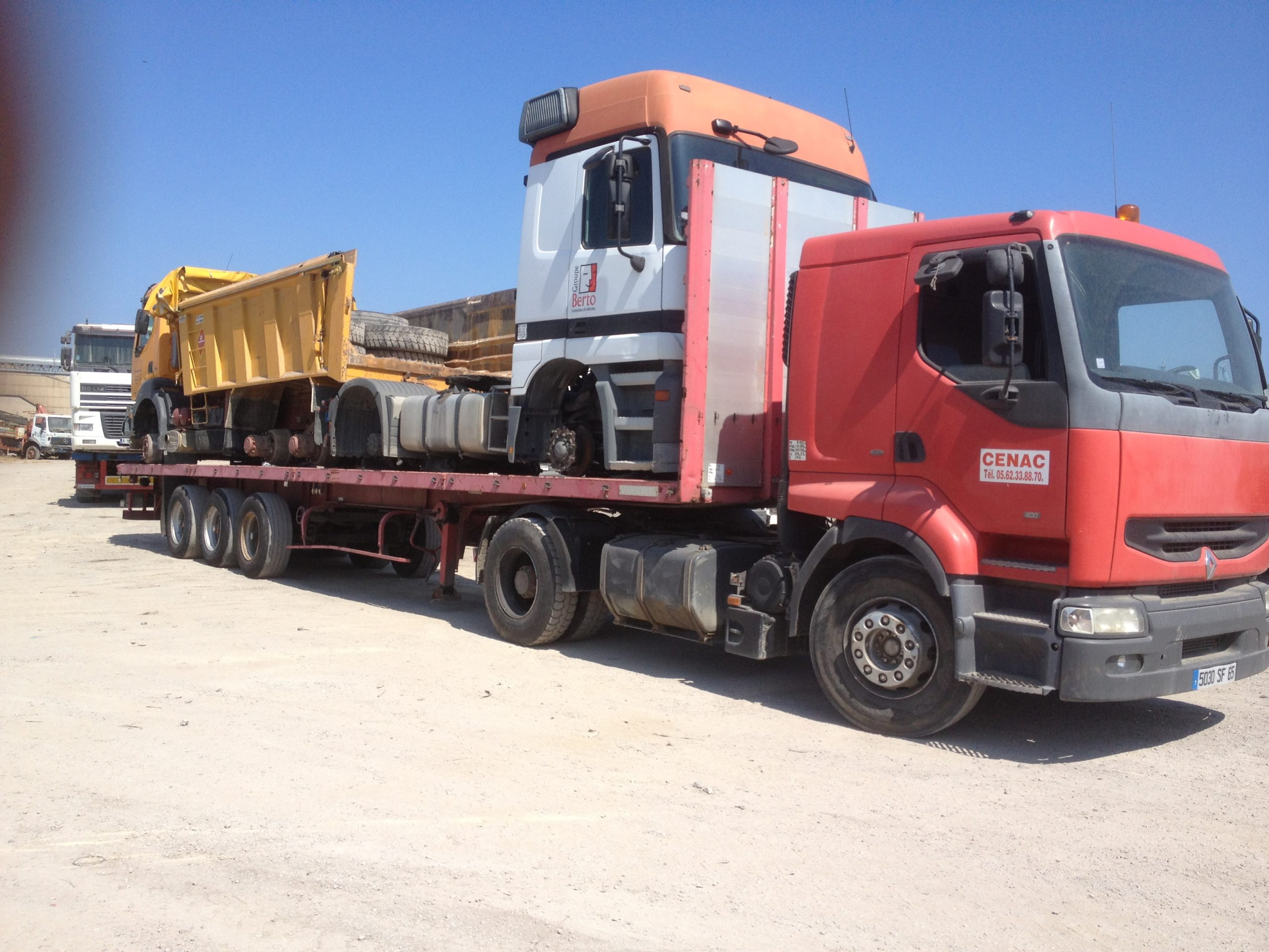 Chargement camion 30