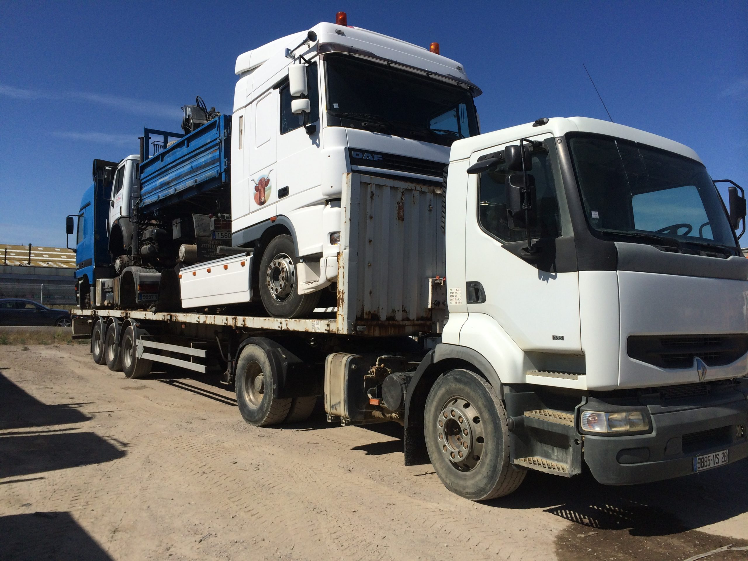 Chargement camion 29