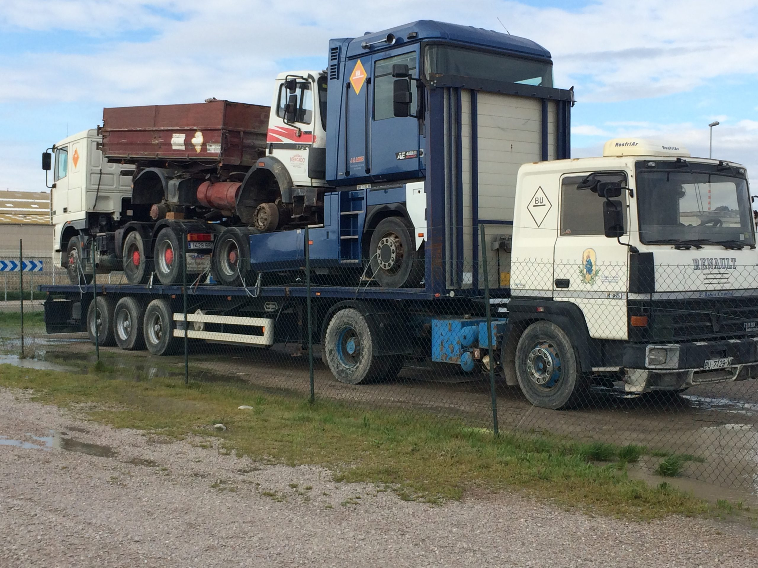 Chargement camion 27