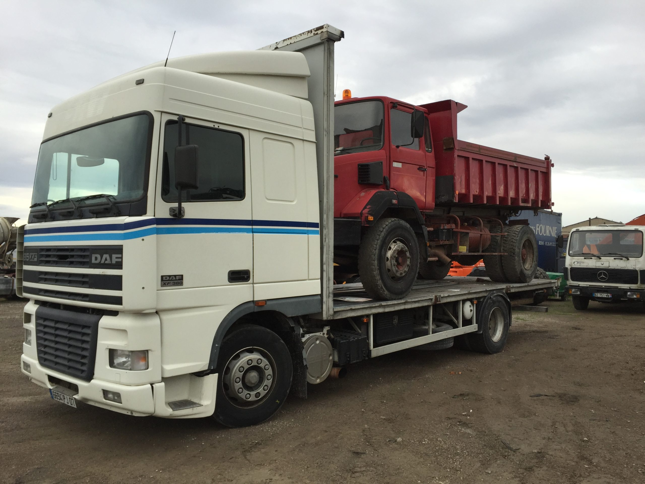 Chargement camion 26