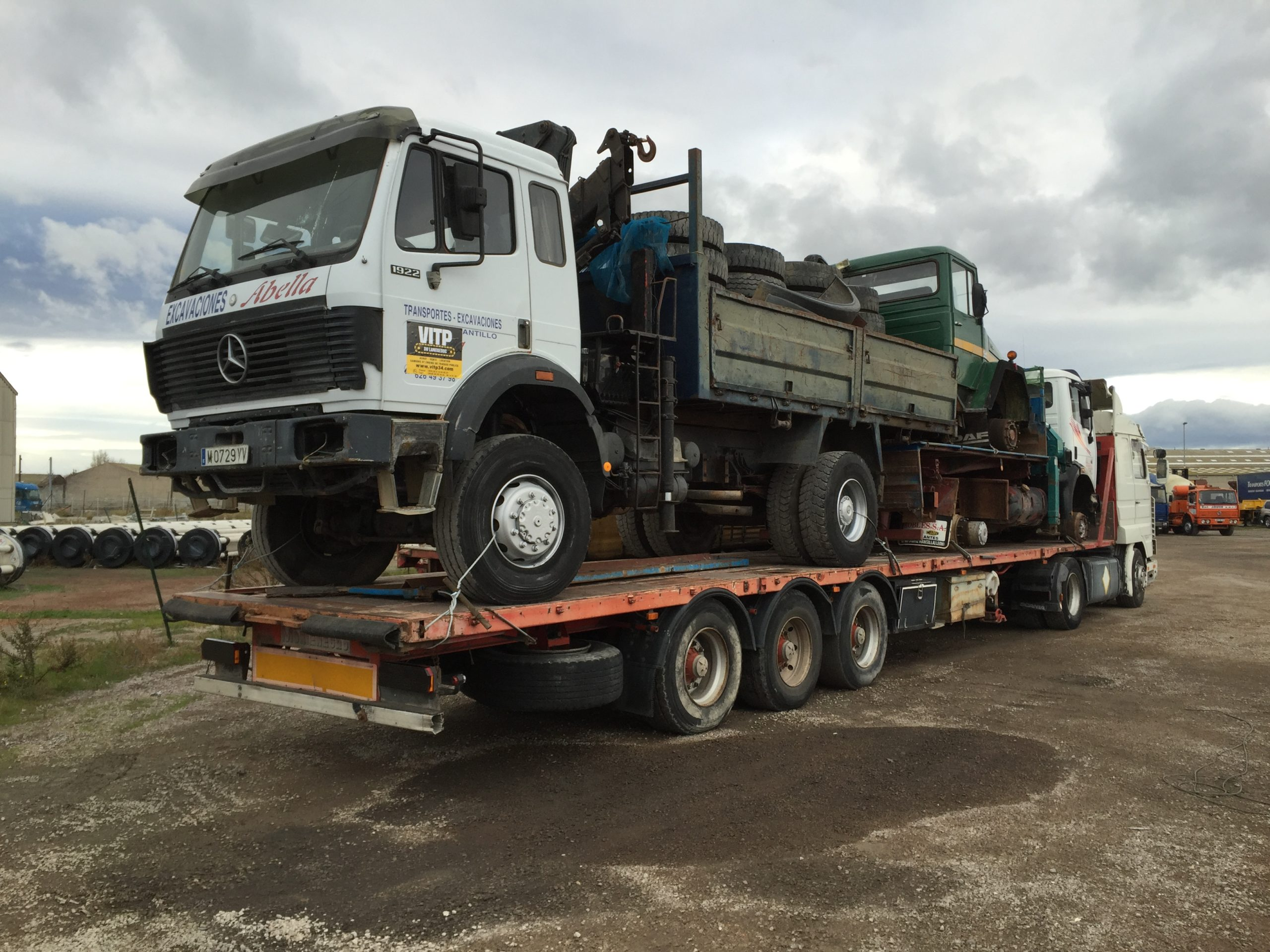 Chargement camion 25