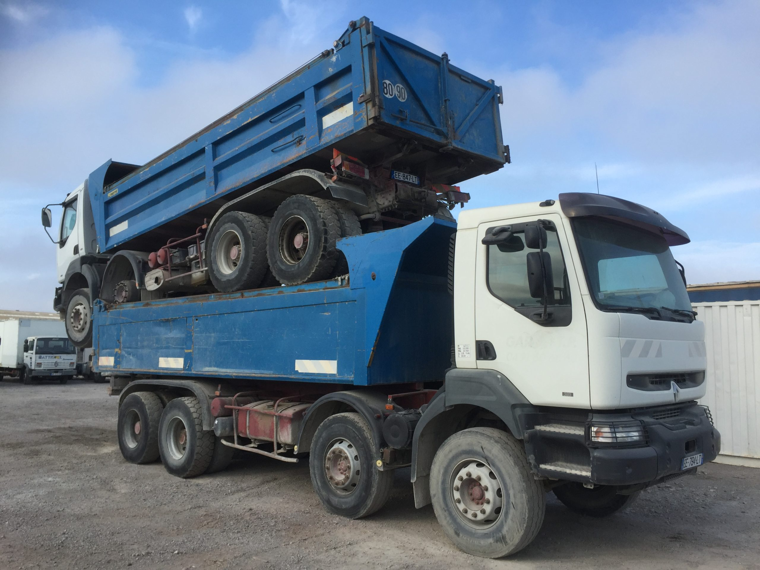 Chargement camion 22