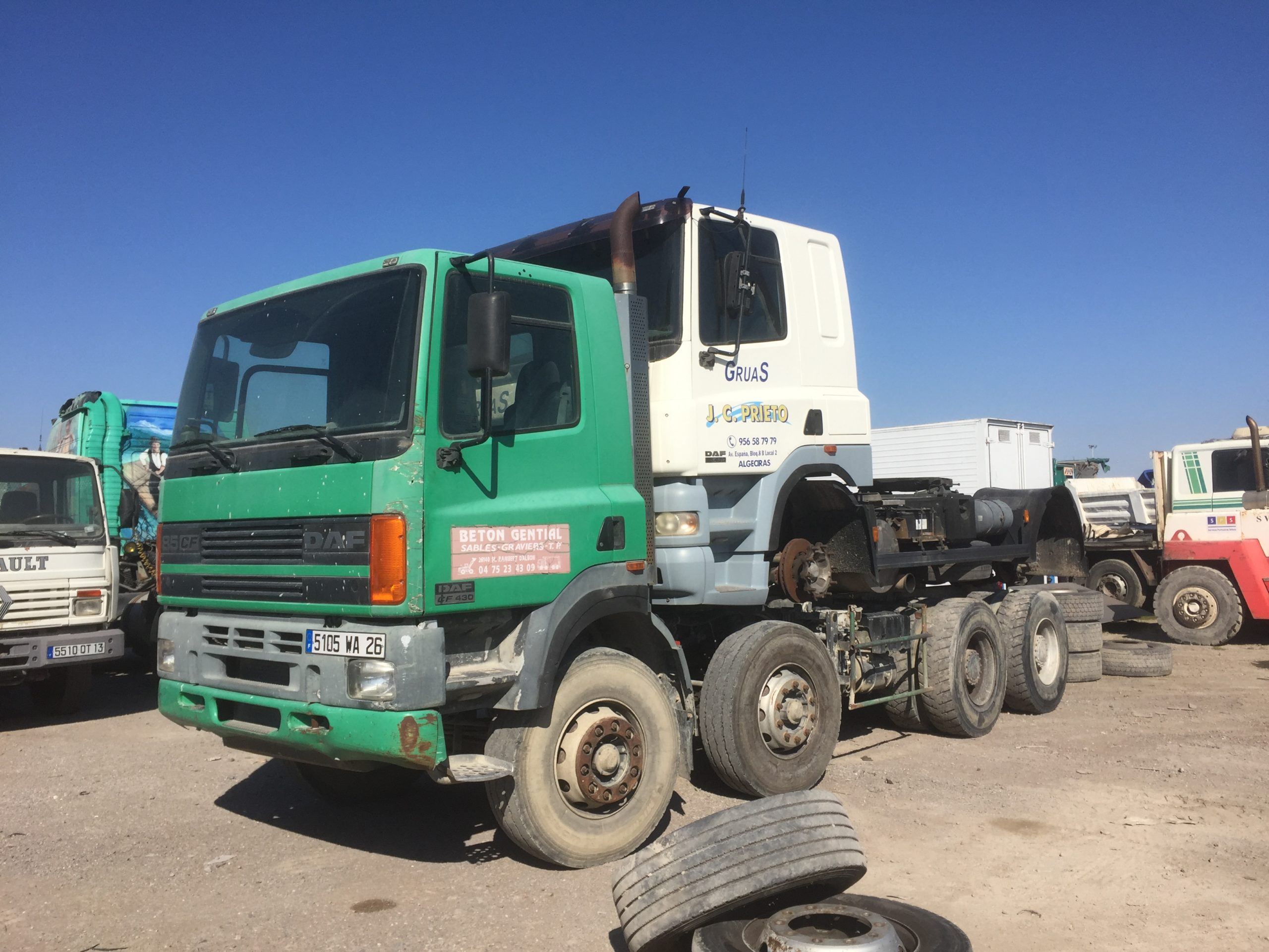 Chargement camion 15