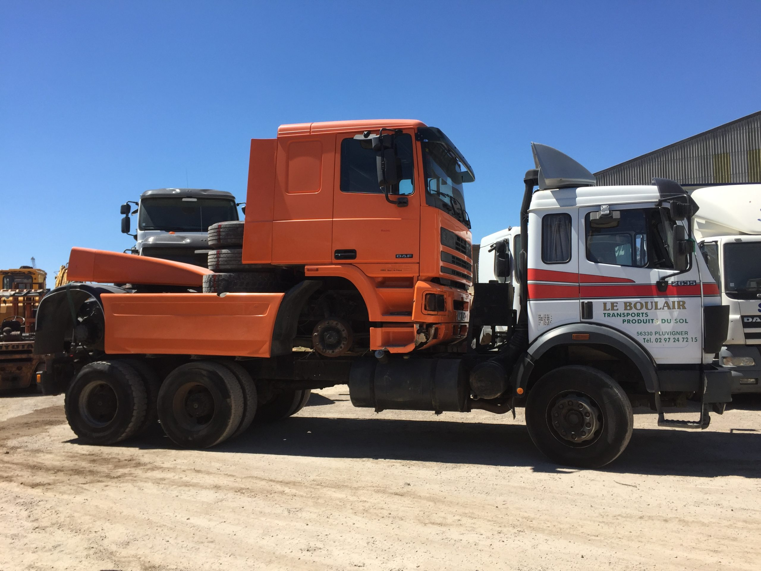 Chargement camion 8