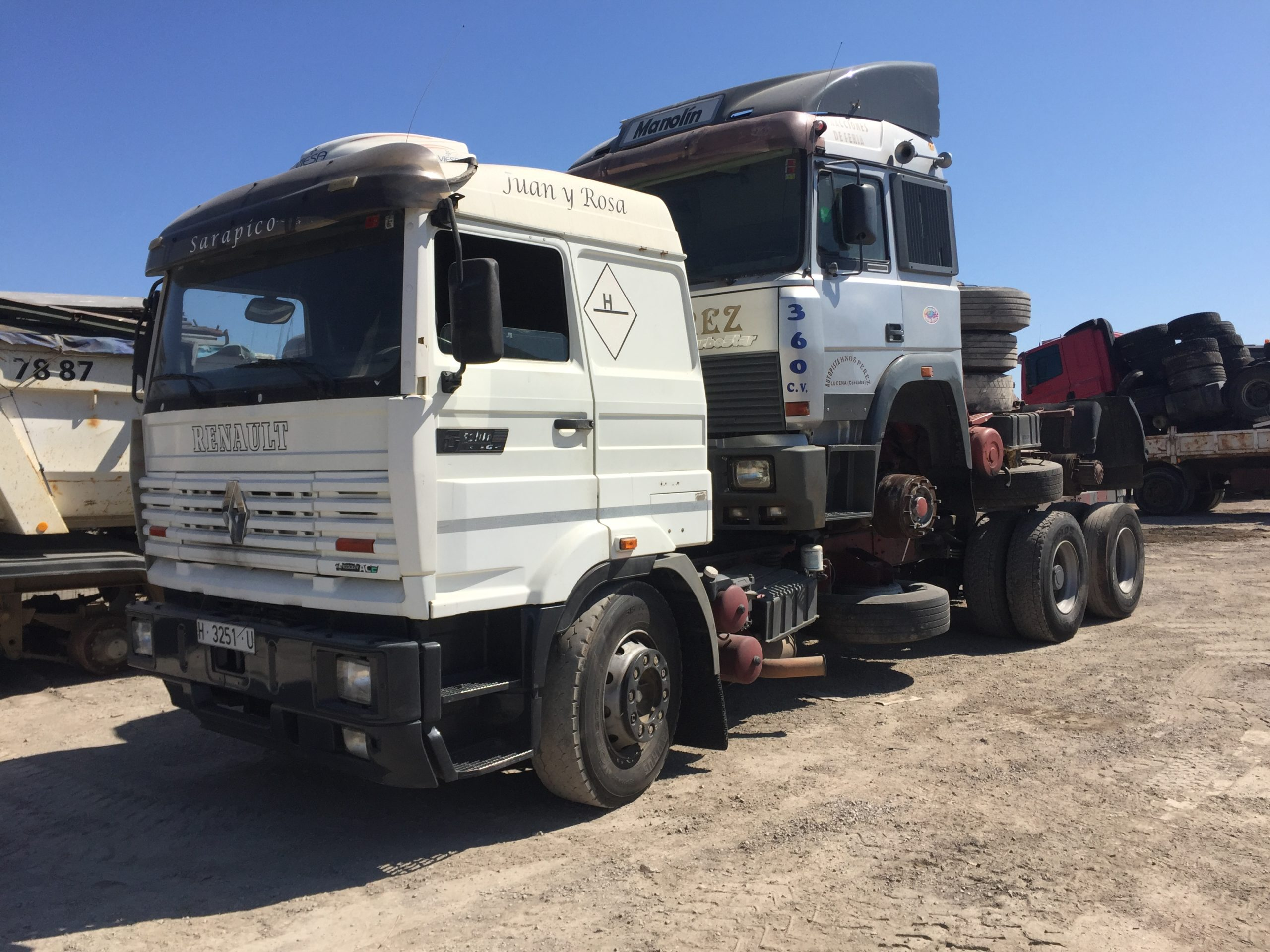 Chargement camion 7