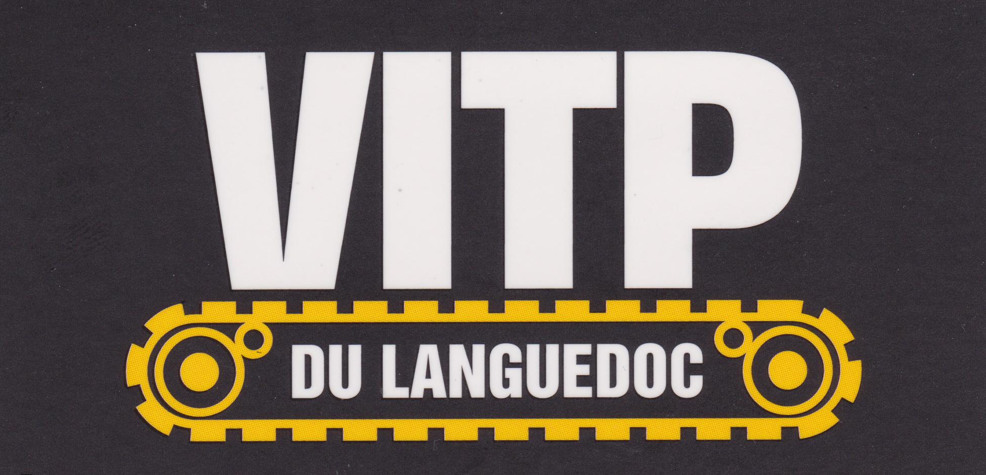 Logo VITP fond noir