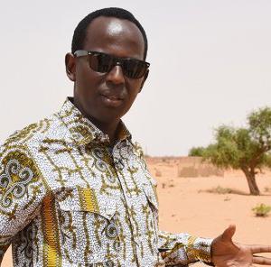 Humouriste africain